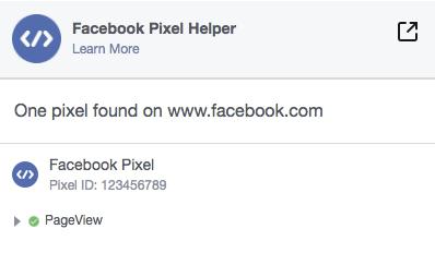 install facebook pixel on website